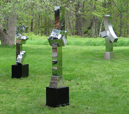 Stephen Porter - Group -  Stainless Steel Sculpture